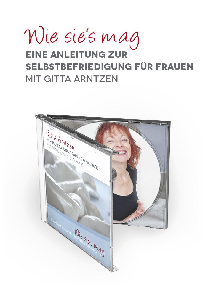 """Im Hörbuch """"Wie sie's mag"""" gibt Gitta Arntzen eine Anleitung zur Selbstbefriedigung."""